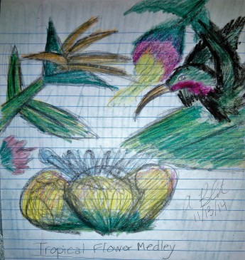 Tropical Flower Medley