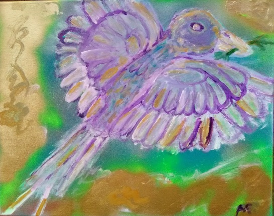 Bird of Peace - 16x20