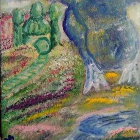 "Canvas Size: 16"" x 20"" Media: Acrylic"