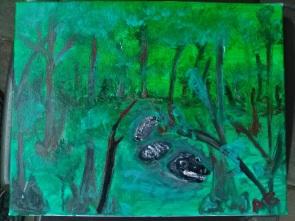 Cypress Swamp - 11x14