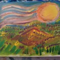 Daffodil Mountains –16×20