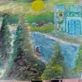 Diamond Castle Valley –16×20