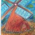 Impressionist Windmill –11×14