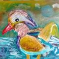 Mandarin Duck –11×14