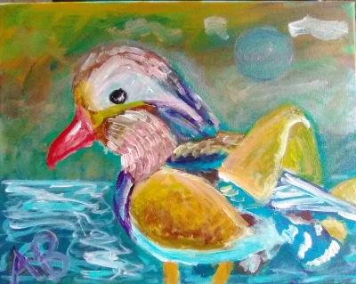 Mandarin Duck - 11x14