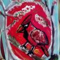 Perched Cardinal –8×10