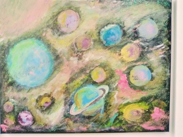 Planetary Menagerie - 16x20